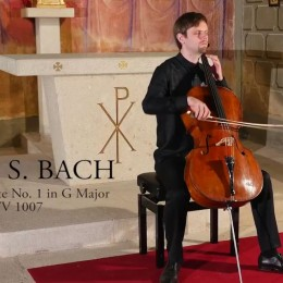 New Recording of the 1st Bach Suite