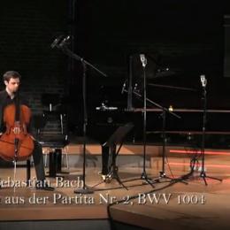 Johann Sebastian Bach – Chaconne aus BWV 1004 (bearbeitet für Violoncello)