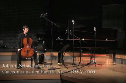 Johann Sebastian Bach – Chaconne from BWV 1004 (arranged for Cello)