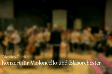 Friedrich Gulda – Concerto for Cello and Wind Orchestra